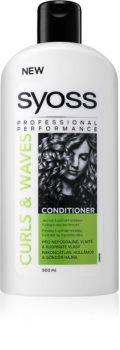 Syoss Curl Me kondicionér pro husté, hrubé nebo kudrnaté vlasy