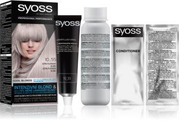 Syoss Cool Blonds перманентната боя за коса