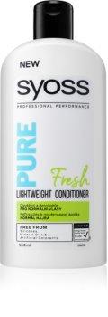 Syoss Pure Fresh acondicionador refrescante para cabello normal