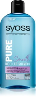 Syoss Pure Smooth shampoing micellaire nourrissant