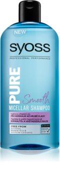 Syoss Pure Smooth vyživující micelární šampon