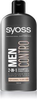 Syoss Men Control sampon és kondicionáló 2 in1