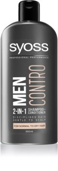 Syoss Men Control Shampoo And Conditioner 2 In 1