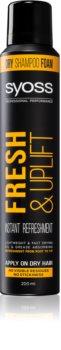 Syoss Fresh & Uplift suchý šampon