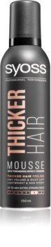 Syoss Thicker Hair Muotoiluvaahto