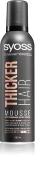 Syoss Thicker Hair Styling Mousse