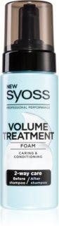 Syoss Volume Treatment пяна за коса  за обем