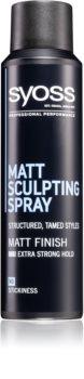 Syoss Matt Sculpting spray modellante effetto opaco