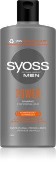 Syoss Men Power & Strength posilující šampon s kofeinem
