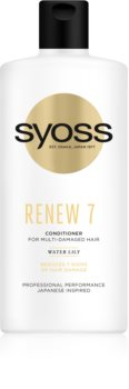 Syoss Renew 7 Balsam intensiv cu efect regenerator balsam regenerant intensiv pentru par foarte deteriorat