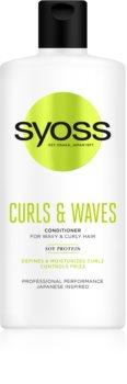 Syoss Curls & Waves Hoitoaine Aaltoileville Ja Kiharoille Hiuksille