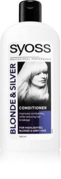 Syoss Blonde & Silver balsamo per capelli biondi e grigi