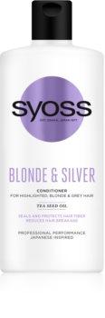 Syoss Blonde & Silver kondicionér pro blond a šedivé vlasy