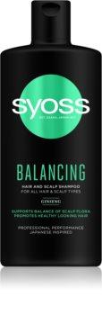 Syoss Balancing Ravitseva Hiustenpesuaine Hiuksille Ja Päänahalle