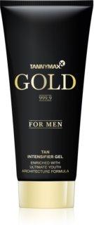 Tannymaxx Gold 999,9 gel abbronzante per solarium per uomo