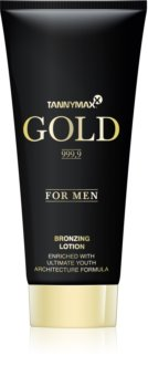 Tannymaxx Gold 999,9 Bronzer Tanning Bed Lotion for Men
