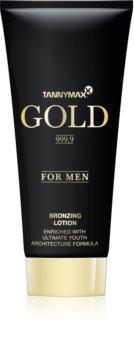 Tannymaxx Gold 999,9 lait bronzant pour solarium pour homme