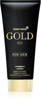 Tannymaxx Gold 999,9 γαλάκτωμα μπρονζαρίσματος για σολάριουμ για άντρες