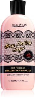 Tannymaxx Sexy Dating Legs Brilliant Hot Bronzer bronzující mléko do solária na nohy