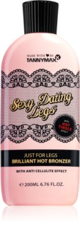 Tannymaxx Sexy Dating Legs Brilliant Hot Bronzer lait bronzant pour solarium pieds