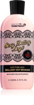 Tannymaxx Sexy Dating Legs Brilliant Hot Bronzer Selbstbräunungsmilch für das Solarium für Füssen