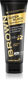 Tannymaxx Brown Super Black Gold Edition crema abbronzante per solarium per stimolare l'abbronzatura