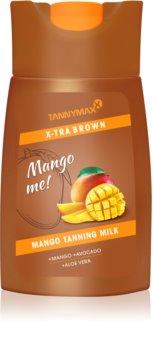 Tannymaxx X-tra Brown Mango Me mlijeko za sunčanje u solariju za održavanje preplanulog tena