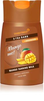Tannymaxx Mango me X-tra Dark losjon za sončenje v solariju z bronzerjem