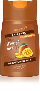 Tannymaxx Mango me X-tra Dark mlijeko za sunčanje u solariju s bronzerom