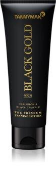 Tannymaxx Black Gold 999,9 lait bronzant solarium  pour souligner le bronzage
