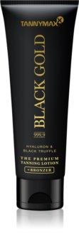 Tannymaxx Black Gold 999,9 crema abbronzante per solarium con effetto brillante  per abbronzatura intensa