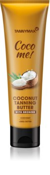 Tannymaxx Coco Me! Coconut Body Butter with Bronzer To Extend Tan Lenght