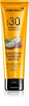 Tannymaxx Coconut Butter защитно масло за тяло SPF 30