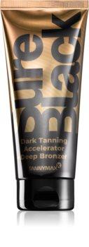 Tannymaxx Sure Black attivatore di abbronzatura con bronzer