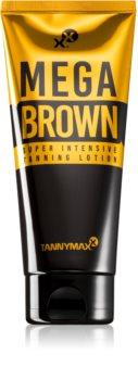 Tannymaxx Megabrown lait corporel pour un bronzage intense