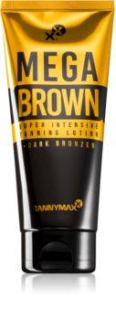 Tannymaxx Megabrown тоалетно мляко за тяло с бронзър