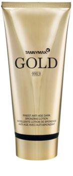 Tannymaxx Gold 999,9 crema abbronzante per solarium con effetto brillante