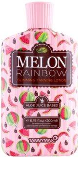 Tannymaxx 6th Sense Melon Rainbow karcsúsító szoláriumos napozó krém a napbarnított hatásért