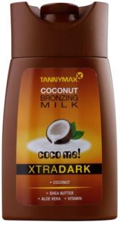 Tannymaxx Coco Me! XtraDark αντηλιακό γάλα για σολάριουμ με μπρονζερ