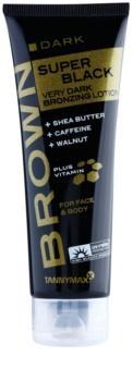 Tannymaxx Brown Super Black Dark Sunscreen Cream With Bronzer