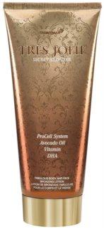Tannymaxx Trés Jolie Solarium-Sonnencreme mit Bronzer