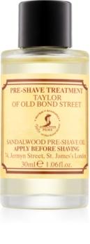 Taylor of Old Bond Street Sandalwood Öljy Ennen Karvanpoistoa