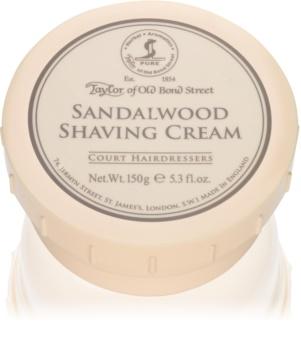 Taylor of Old Bond Street Sandalwood crema de afeitar