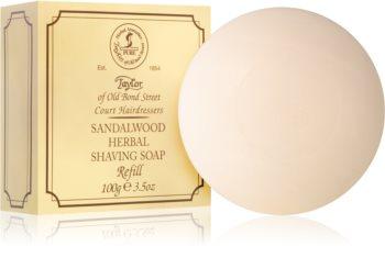 Taylor of Old Bond Street Sandalwood mýdlo na holení náhradní náplň