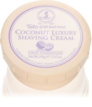 Taylor of Old Bond Street Coconut crème à raser