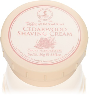 Taylor of Old Bond Street Cedarwood crème à raser