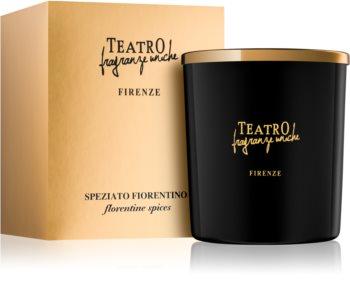 Teatro Fragranze Speziato Fiorentino lumânare parfumată  (Florentine Spices)