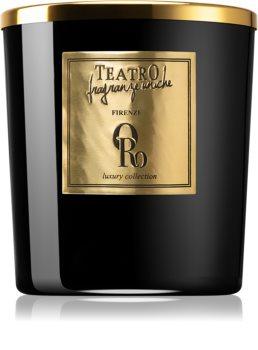 Teatro Fragranze Oro bougie parfumée