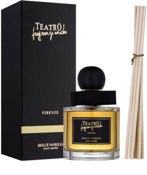 Teatro Fragranze Dolce Vaniglia aroma difuzor cu rezervã (Sweet Vanilla)