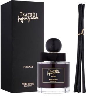 Teatro Fragranze Nero Divino aroma diffuser with filling (Black Divine)